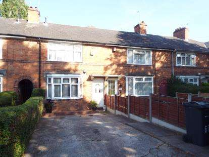 2 Bedrooms Terraced House for sale in Allcroft Road, Tyseley, Birmingham, West Midlands