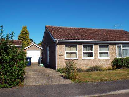 Semi Detached House for sale in Flint Close, Brampton, Huntingdon, Cambridgeshire