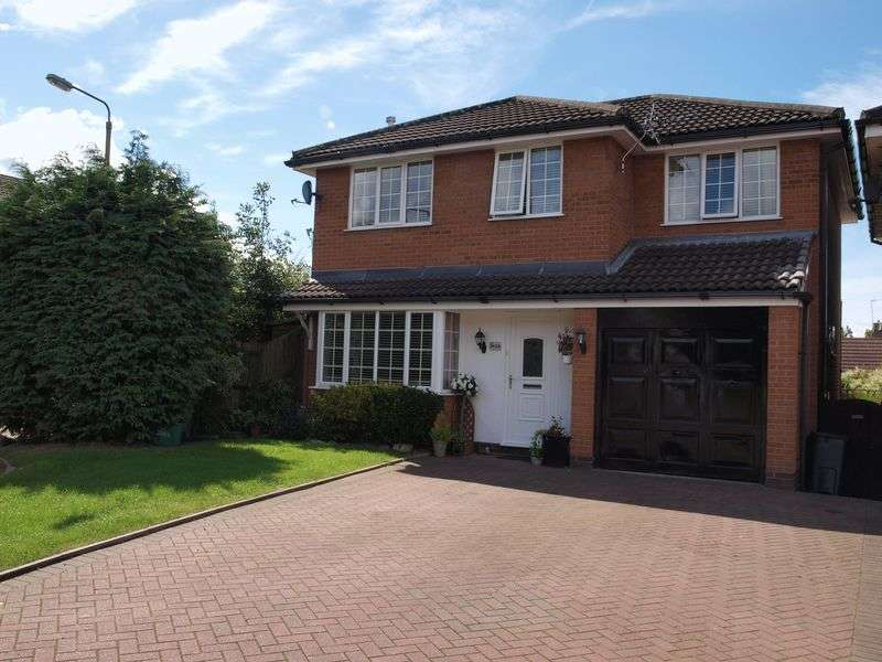 4 Bedrooms Detached House for sale in Betley Close, Leftwich, Northwich, CW9 8SG