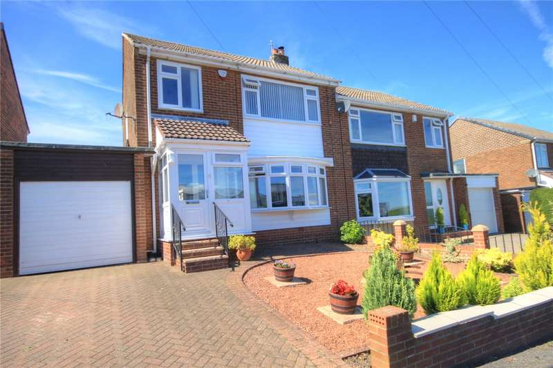 3 Bedrooms Semi Detached House for sale in St Aubyns Way, East Stanley, Stanley, DH9