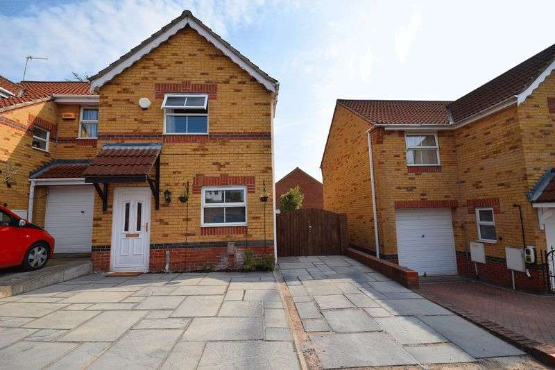 2 Bedrooms Semi Detached House for sale in Madison Court, Tunstall
