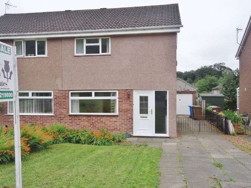 2 Bedrooms Semi Detached House for sale in 19 KINGSEAT DRIVE, TILLICOULTRY
