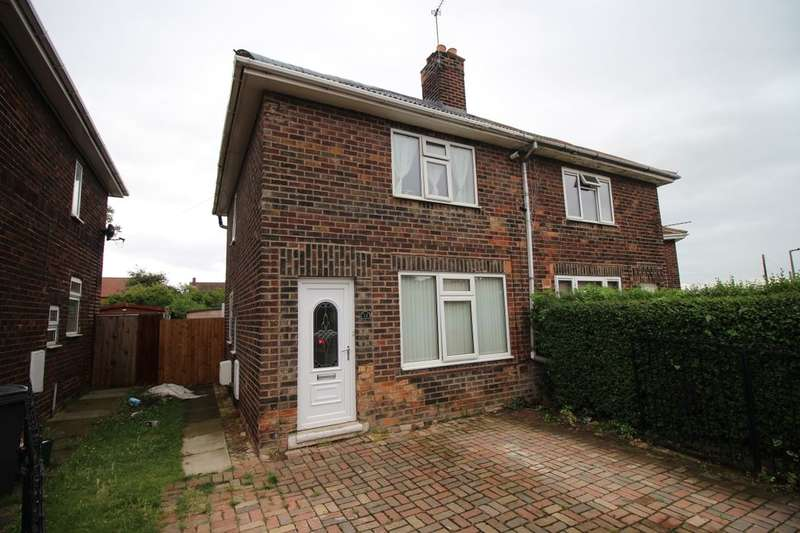 2 Bedrooms Semi Detached House for sale in Broc-O-Bank, Norton, Doncaster, DN6