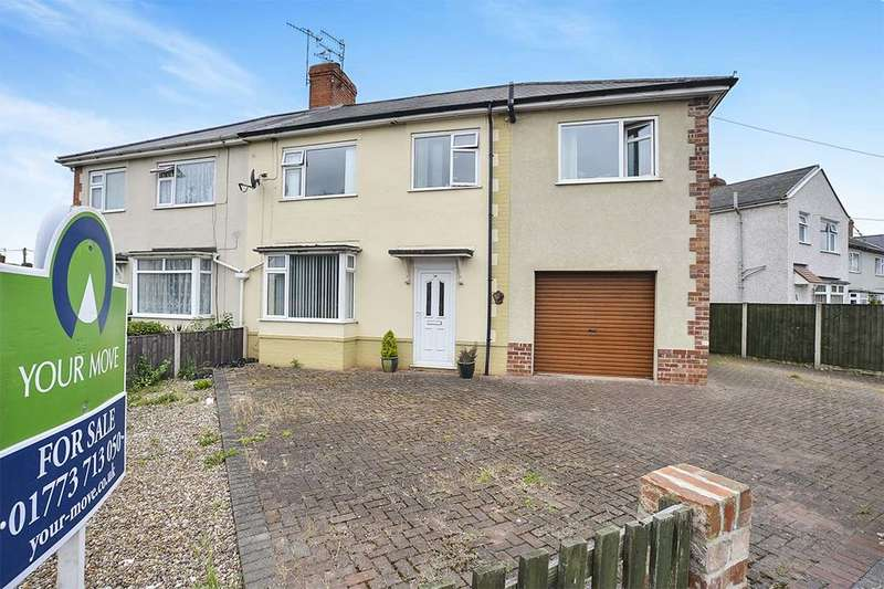 4 Bedrooms Semi Detached House for sale in Milnhay Road, Langley Mill, Nottingham, NG16