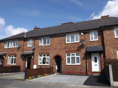 3 Bedrooms Terraced House for sale in Lee Avenue, Broadheath, Altrincham, Greater Manchester