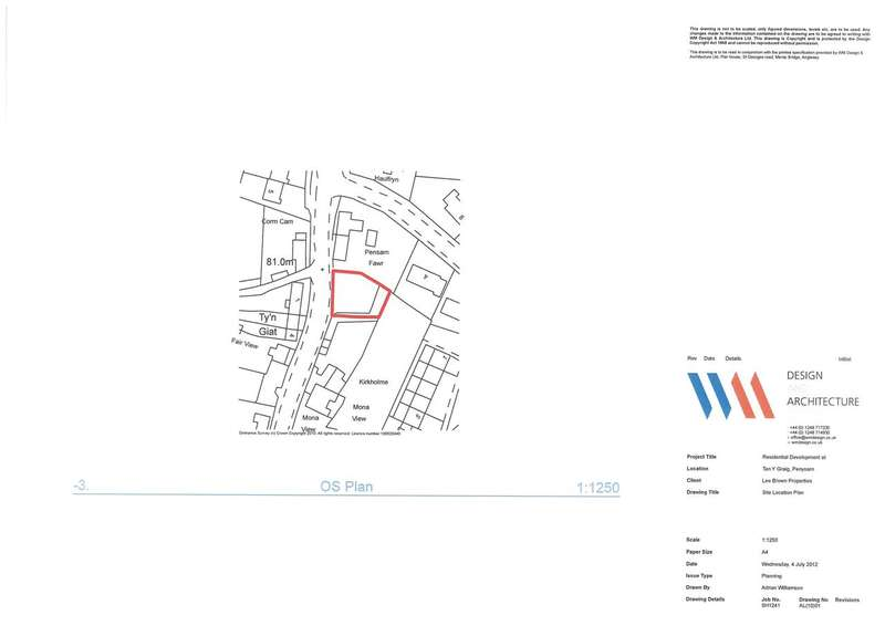 3 Bedrooms Land Commercial for sale in Chapel Walks, Tan Y Graig, Penysarn