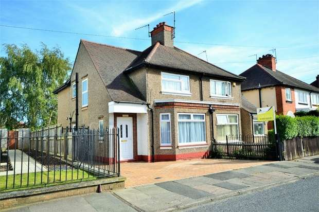 3 Bedrooms Semi Detached House for sale in The Headlands, NORTHAMPTON