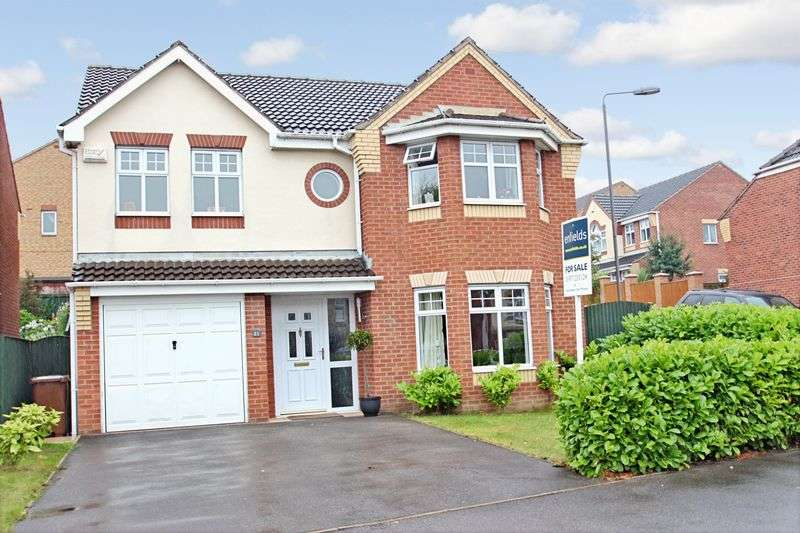 4 Bedrooms Detached House for sale in Willow Bank Drive, Pontefract