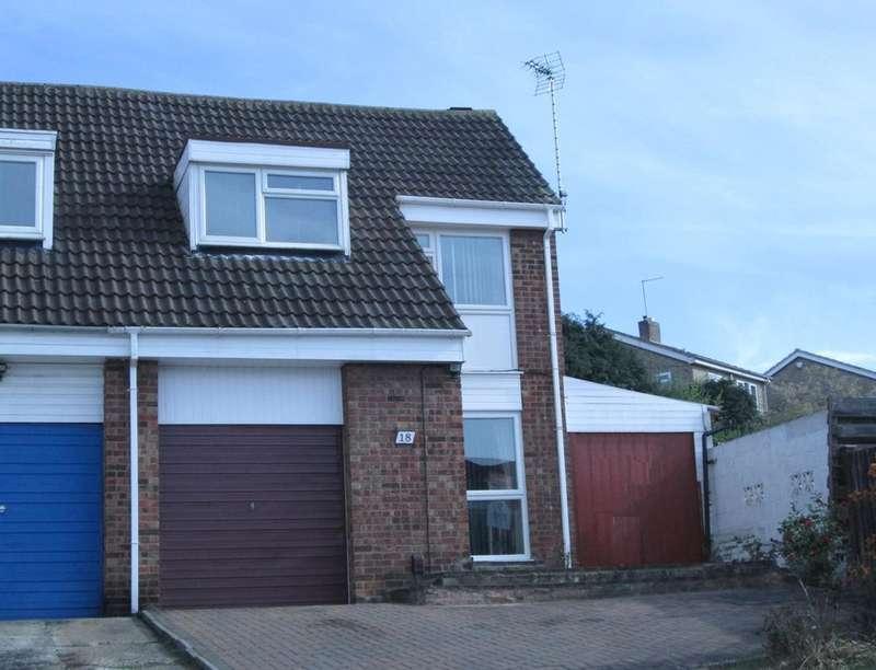 3 Bedrooms Semi Detached House for sale in Okehampton Avenue, Leicester, LE5