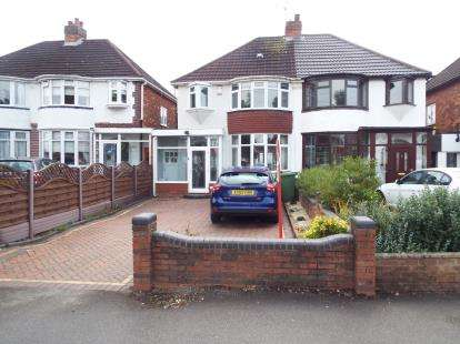 3 Bedrooms Semi Detached House for sale in Lyndon Road, Solihull, West Midlands