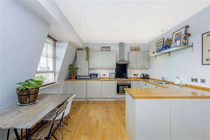 2 Bedrooms Flat for sale in Voltaire Road, LONDON