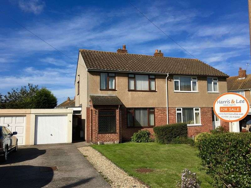 3 Bedrooms Semi Detached House for sale in Nutwell Road, Worle, Weston-Super-Mare