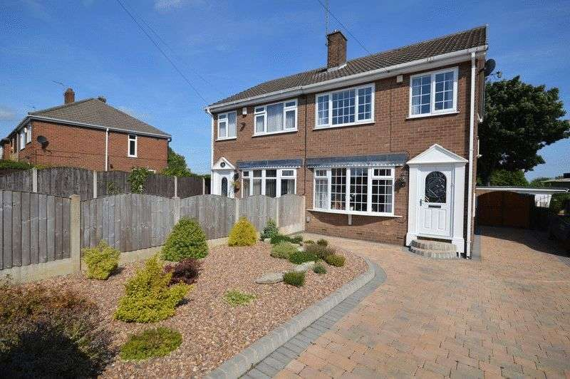 3 Bedrooms Semi Detached House for sale in Dale Villas, Castleford