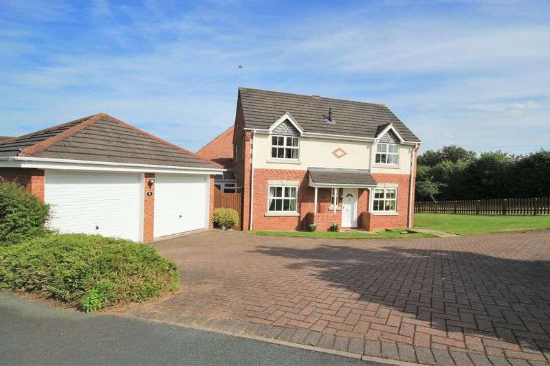 4 Bedrooms Detached House for sale in Meadowcroft, Whitchurch