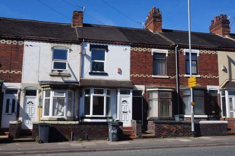 2 Bedrooms Terraced House for sale in Victoria Road, Joiners Square, Stoke-On-Trent