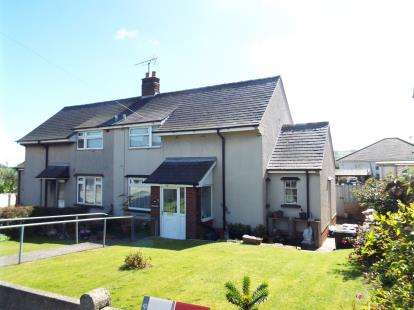 2 Bedrooms Semi Detached House for sale in Maes Rhydwen, Whitford, Holywell, Flintshire, CH8