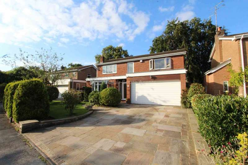 4 Bedrooms Detached House for sale in Summerfield Place, Wilmslow, Cheshire, SK9 1NE