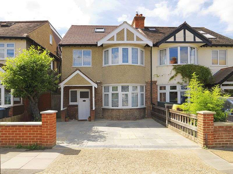 5 Bedrooms Semi Detached House for sale in Westbury Road, New Malden, KT3