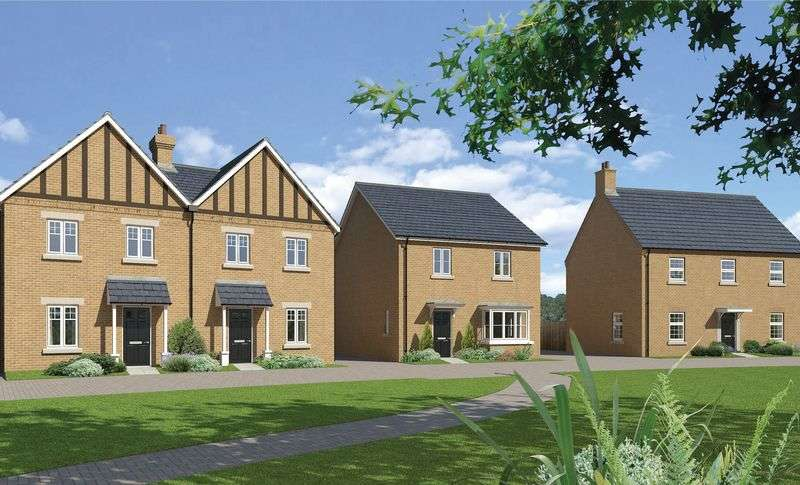4 Bedrooms Detached House for sale in The Glympton - Plot 43 at Downsview Park, Wantage