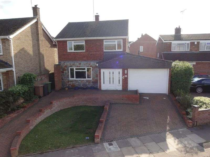 4 Bedrooms Detached House for sale in Jillifer Road, Luton