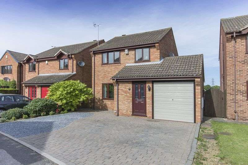 3 Bedrooms Detached House for sale in WOODMINTON DRIVE, CHELLASTON