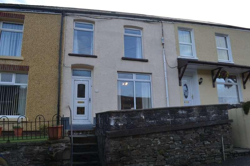 3 Bedrooms Terraced House for sale in Oakfield Terrace, Nantymoel, Glamorgan, CF32