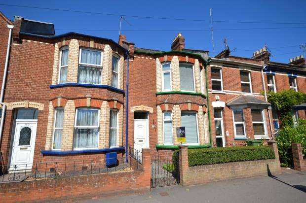 3 Bedrooms Terraced House for sale in Fore Street, Heavitree, Exeter, Devon