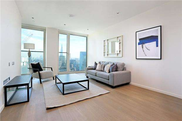 1 Bedroom Flat for sale in Southbank Tower, 55 Upper Ground, London