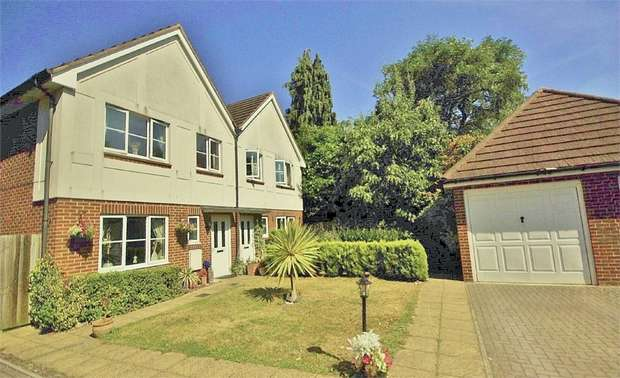 3 Bedrooms Semi Detached House for sale in Nursery Close, Oxhey Hall, Hertfordshire