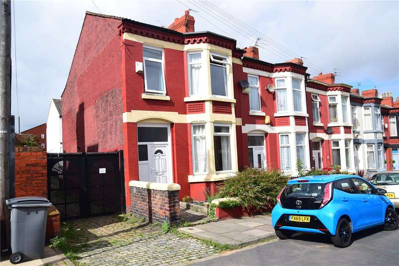 3 Bedrooms End Of Terrace House for sale in Riversdale Road, Wallasey, Wirral