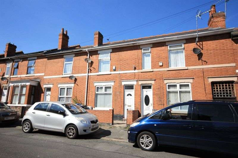 4 Bedrooms Terraced House for sale in PORTER ROAD, DERBY