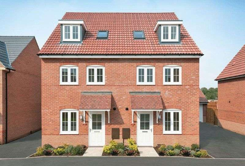 4 Bedrooms Semi Detached House for sale in ROCHESTER - Manor Farm, North Hykeham