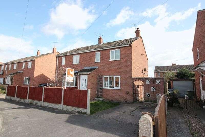 3 Bedrooms Semi Detached House for sale in Camborne Crescent, Retford