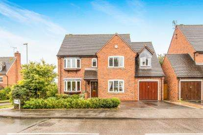 5 Bedrooms Detached House for sale in Highfield, Hatton Park, Warwick