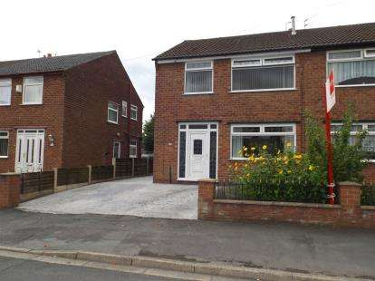 3 Bedrooms Semi Detached House for sale in Broadway, Irlam, Manchester, Greater Manchester