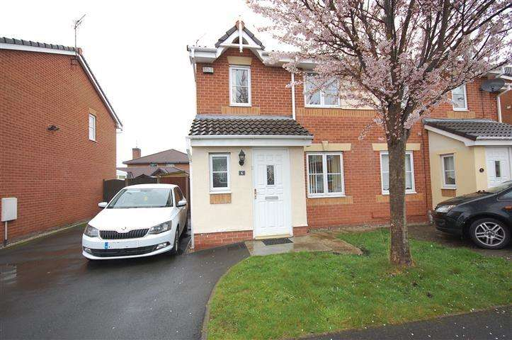 3 Bedrooms Semi Detached House for sale in Westbury Close, Woolton, Liverpool, L25