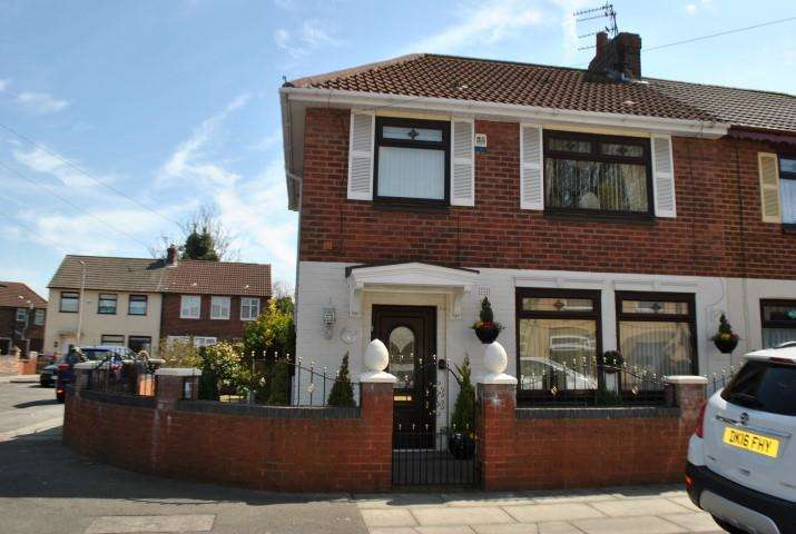 3 Bedrooms Semi Detached House for sale in Lindsay Road, Liverpool, Merseyside, L4