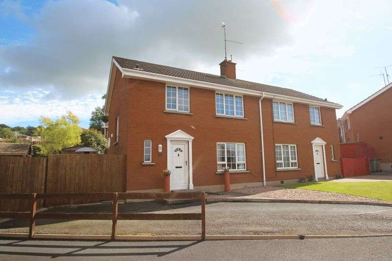 3 Bedrooms Semi Detached House for sale in 14 Grantham Park, Portadown