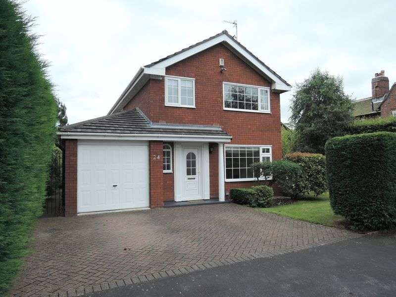 4 Bedrooms Detached House for sale in Carnoustie Drive, Heald Green