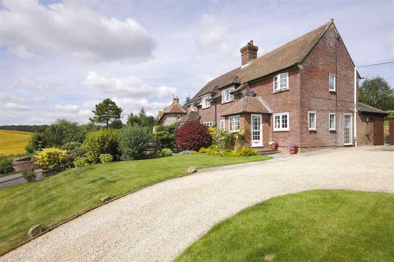 3 Bedrooms Semi Detached House for sale in Hare Warren Farm Cottages, Hare Warren, Whitchurch