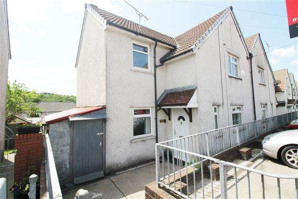 3 Bedrooms Semi Detached House for sale in Heol Waun, Tyn Y Bryn, Porth