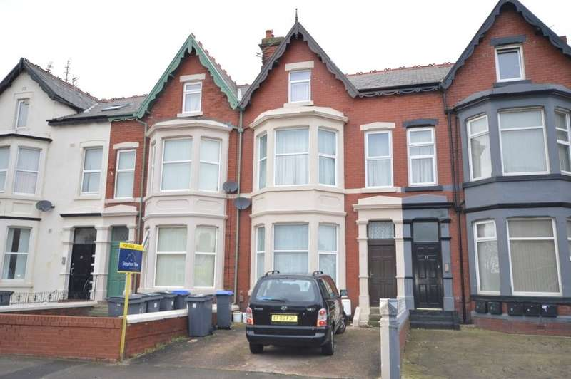 5 Bedrooms Terraced House for sale in Horncliffe Road, South Shore