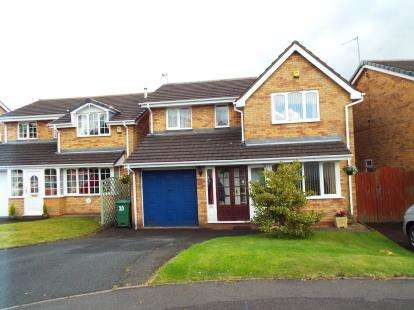 4 Bedrooms Detached House for sale in Peterborough Drive, Heath Hayes, Cannock, Staffordshire