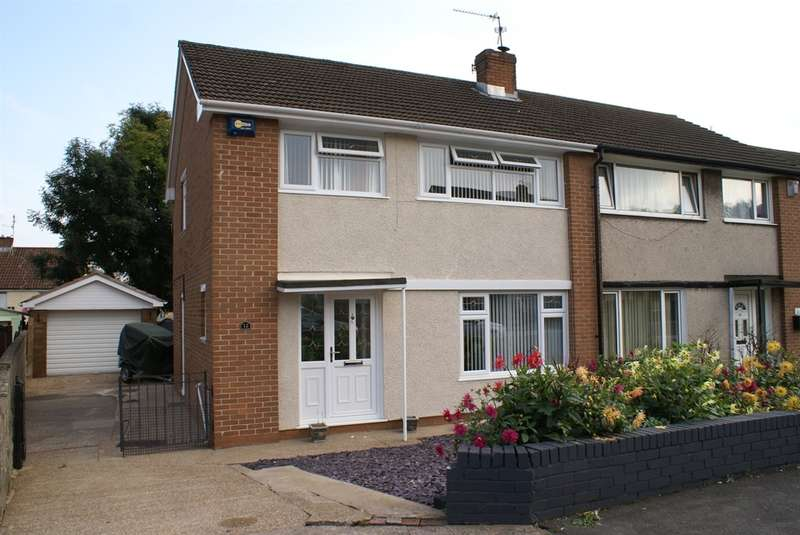 3 Bedrooms Semi Detached House for sale in Penrhyn Close, Rumney, Cardiff