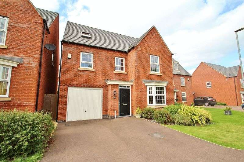 6 Bedrooms Detached House for sale in McQueen Drive, Mountsorrel, Leicestershire