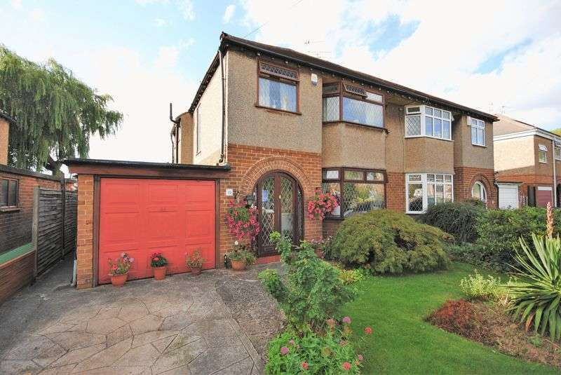 3 Bedrooms Semi Detached House for sale in Brookside Crescent, Saughall Massie