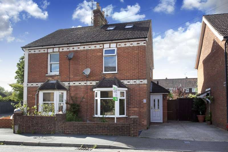 4 Bedrooms Semi Detached House for sale in Spencers Road, Horsham
