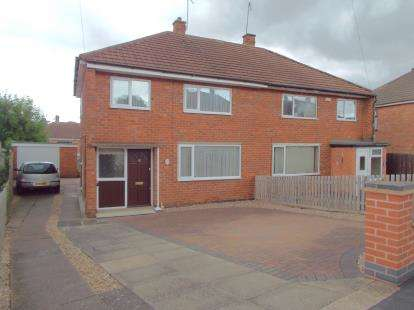3 Bedrooms Semi Detached House for sale in Lonsdale Road, Thurmaston, Leicester, Leicestershire