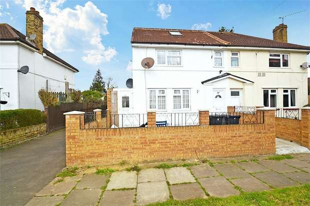 4 Bedrooms Semi Detached House for sale in Charter Crescent, Hounslow, Greater London