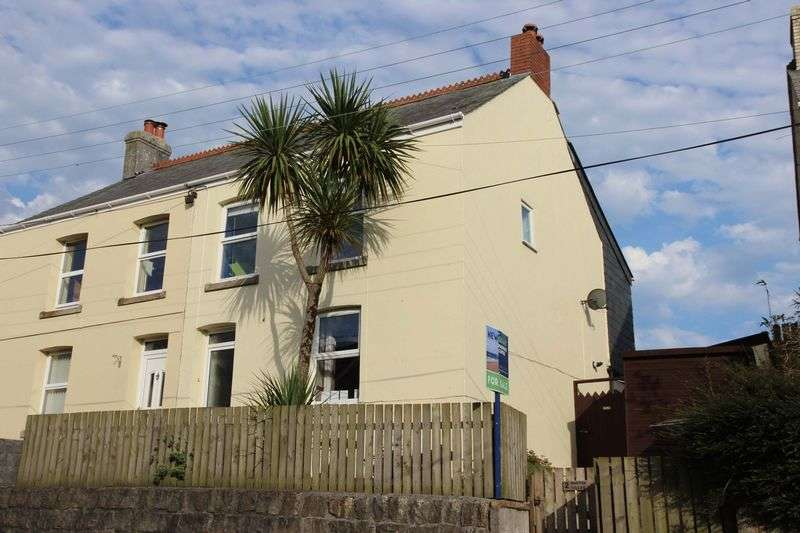 3 Bedrooms Semi Detached House for sale in Fraddon, St Columb